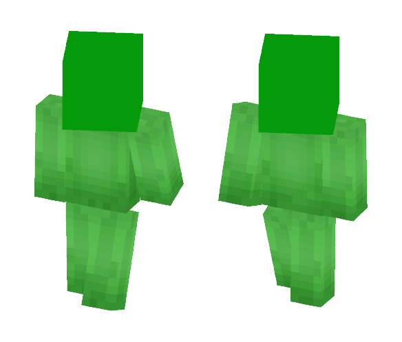 //The Slimyest Slime// - Interchangeable Minecraft Skins - image 1