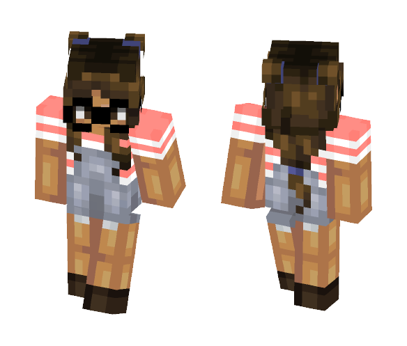 bu9 - kimibxtch (request) - Female Minecraft Skins - image 1