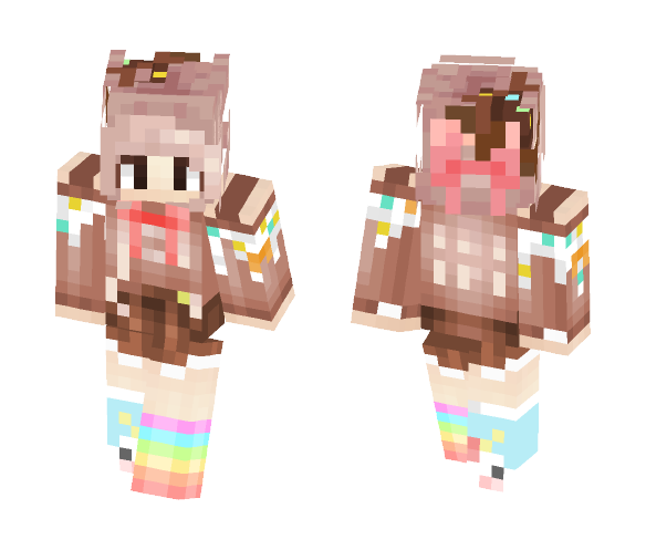 Candy Girl - Girl Minecraft Skins - image 1