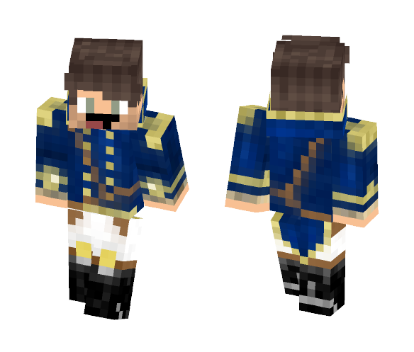 Blue version of the thingy - Male Minecraft Skins - image 1