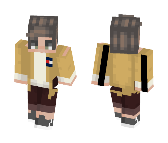 beside the dying fire - Male Minecraft Skins - image 1