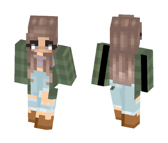 tell it to the frogs - Female Minecraft Skins - image 1