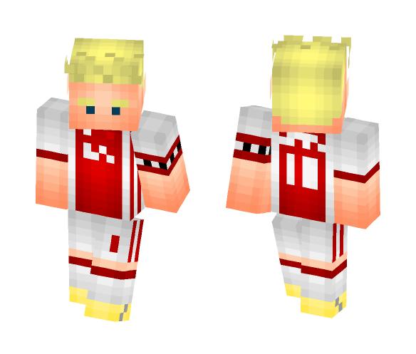 Davy Klaassen - AFC Ajax - Male Minecraft Skins - image 1
