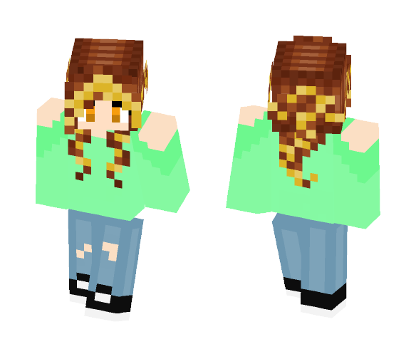 Kim Outfit - Female Minecraft Skins - image 1