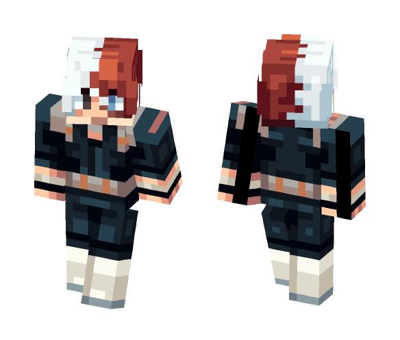 Shoto Todoroki [Hero Academia] - Male Minecraft Skins - image 1