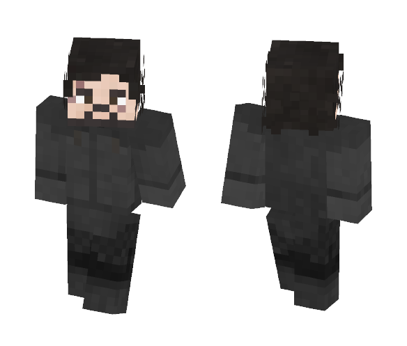 Jon Snow [Game of Thrones] [5x10] - Male Minecraft Skins - image 1
