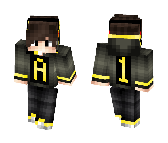 A-1 Gaming Golden Edition YouTuber - Male Minecraft Skins - image 1