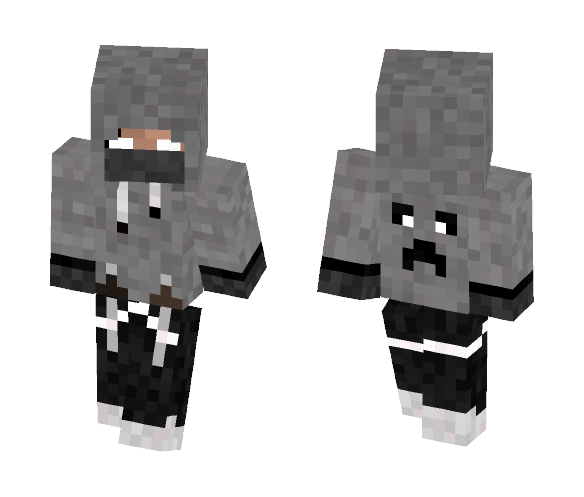 Assasin Herobrine - Herobrine Minecraft Skins - image 1