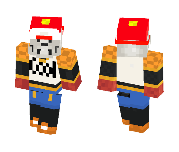 Papyrus Cool Dude - Male Minecraft Skins - image 1