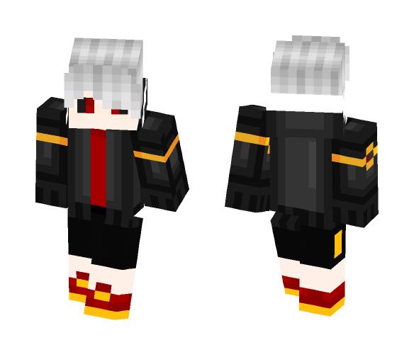 UnderFell Human Sans - Male Minecraft Skins - image 1