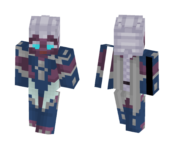 Inieloo | Karrie (Mobile Legends) - Female Minecraft Skins - image 1