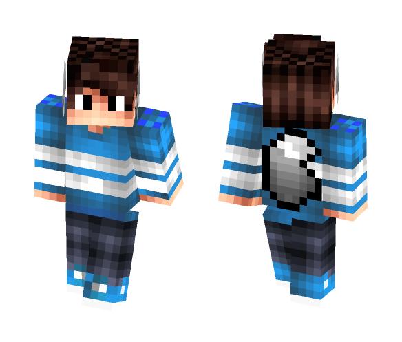 Wolf Teen (Teen Revamp) - Male Minecraft Skins - image 1