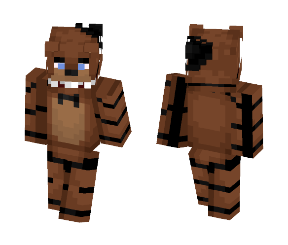 Freddy Fazbear - FNaF 1 - Male Minecraft Skins - image 1