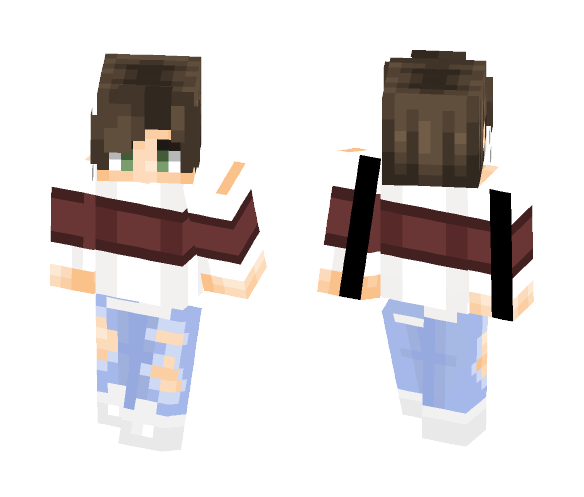 Crack a Cold One - Male Minecraft Skins - image 1
