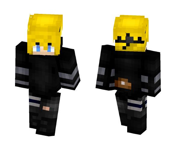 Kobe Namikaze || Miindo's OC - Male Minecraft Skins - image 1