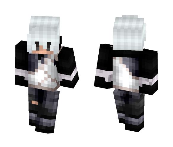 Aru Yotsuki || NRTN Oc - Male Minecraft Skins - image 1