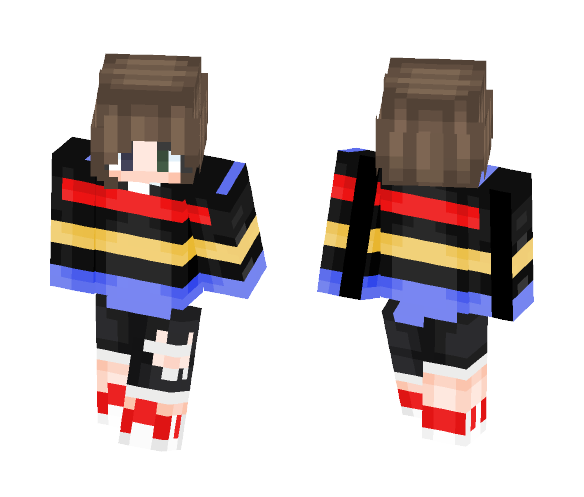 Striped Sweater but it's the summer - Interchangeable Minecraft Skins - image 1