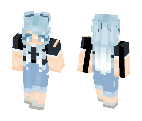 Frosty Summers - Female Minecraft Skins - image 1