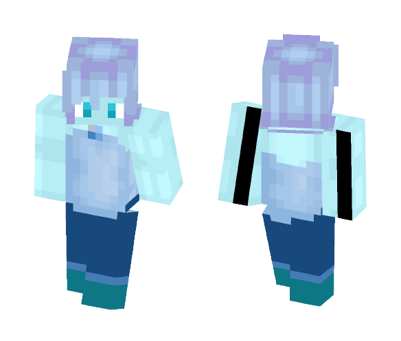 blue akoya pearl again - Interchangeable Minecraft Skins - image 1