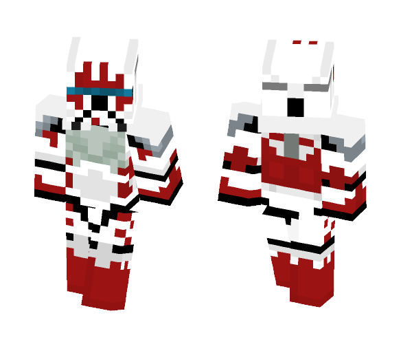 Clone Commando - RC-1207 (Sev) - Male Minecraft Skins - image 1