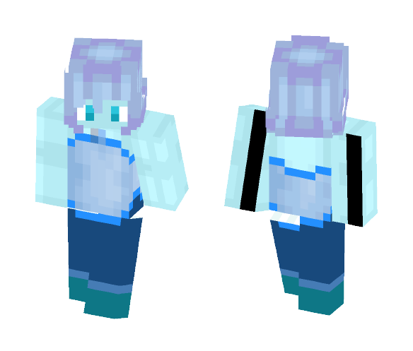 blue akoya pearl - Male Minecraft Skins - image 1