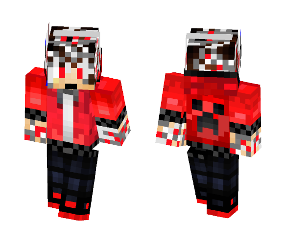 WireDroid - Male Minecraft Skins - image 1