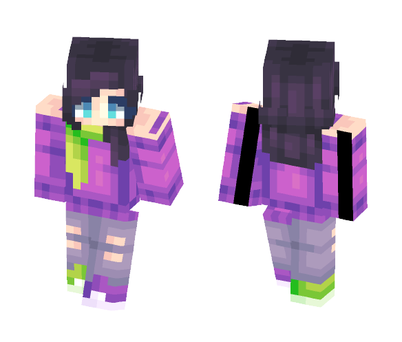 Please Don't Go - Persona New Look - Female Minecraft Skins - image 1