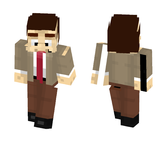 Inieloo | Mr. Bean - Male Minecraft Skins - image 1