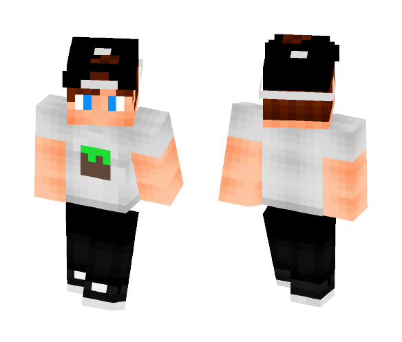 Lucky from GUTONIVERSO channel - Male Minecraft Skins - image 1