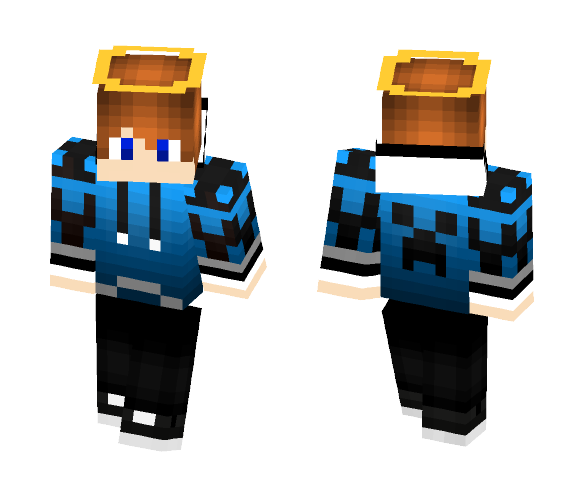Andy From GUTONIVERSO channel - Male Minecraft Skins - image 1