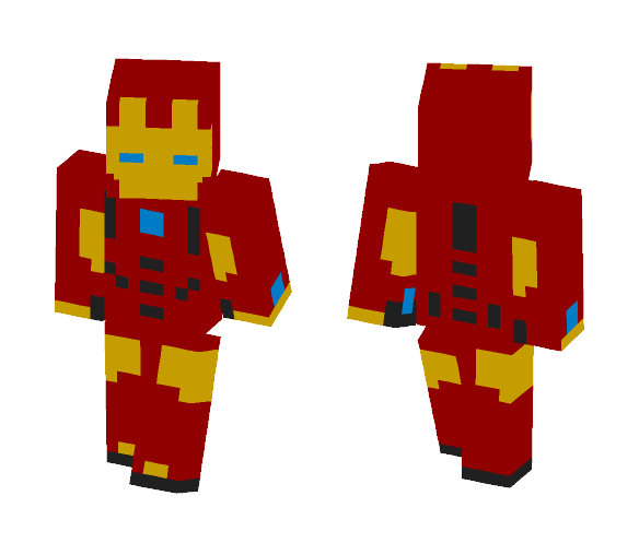 All New, All Different Iron-Man - Male Minecraft Skins - image 1