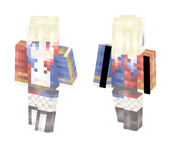 harley quinn~ - Comics Minecraft Skins - image 1