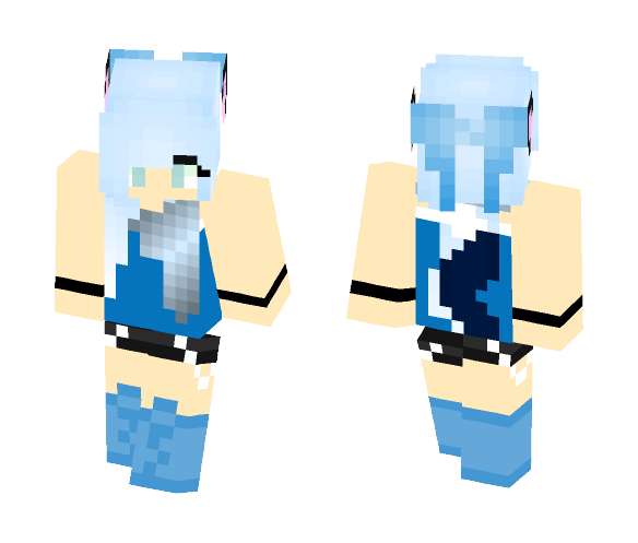 Werewolf Girl - Female Minecraft Skins - image 1