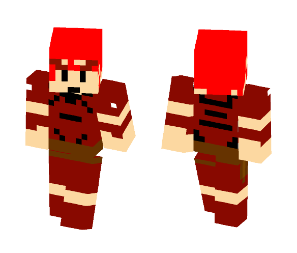 Warrior--Final Fantasy 1 - Male Minecraft Skins - image 1