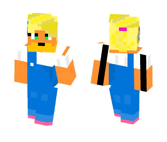 Coco Bandicoot - Female Minecraft Skins - image 1
