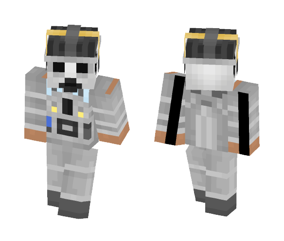 Mondasian CyberMan () Recreation () - Interchangeable Minecraft Skins - image 1
