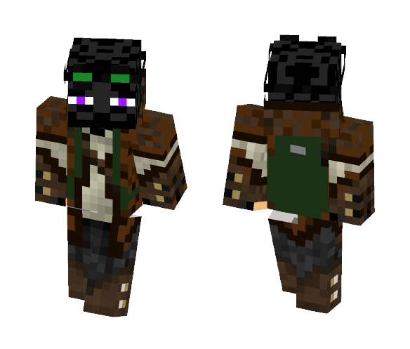 Adventure Enderman - Male Minecraft Skins - image 1