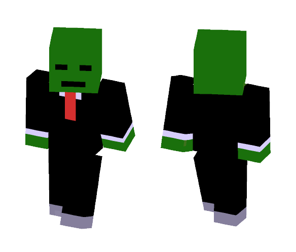 zombie in a suit - Other Minecraft Skins - image 1