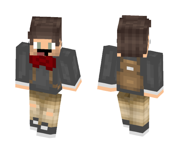 School Uniform - Male Minecraft Skins - image 1