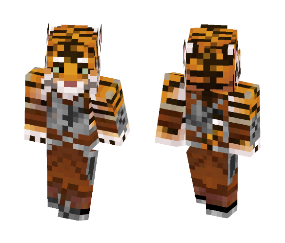 Khajiit Bengal Tiger - Interchangeable Minecraft Skins - image 1