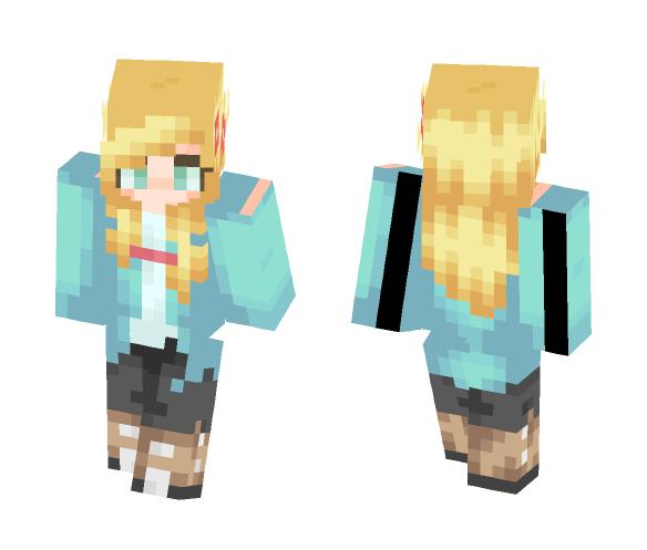 국수 ▬ ST - Female Minecraft Skins - image 1