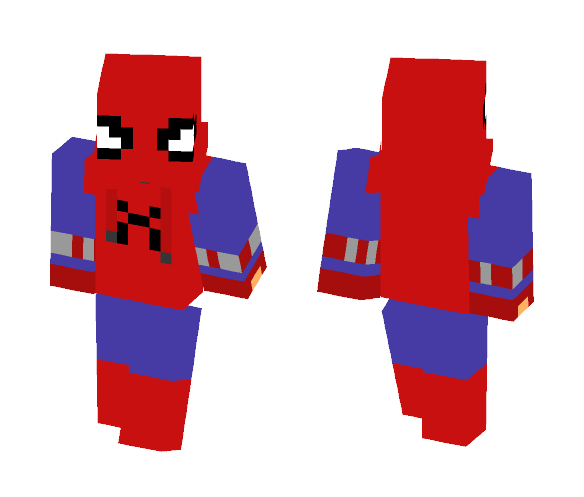 Spider-man Homecoming Homemade Suit - Comics Minecraft Skins - image 1
