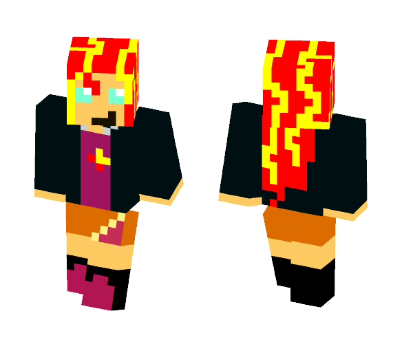 Sunset Shimmer - Female Minecraft Skins - image 1