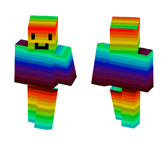 Rainbow Person - Interchangeable Minecraft Skins - image 1