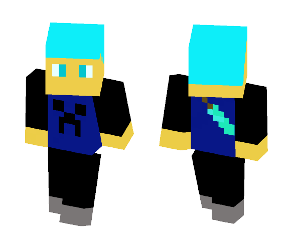 Swagalicious PvP person - Male Minecraft Skins - image 1
