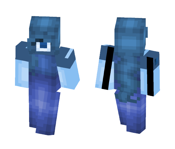 Nαvy Blυe Sαppнιre - Female Minecraft Skins - image 1