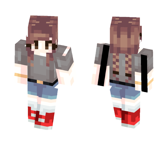 Comfortable [Req] - Female Minecraft Skins - image 1