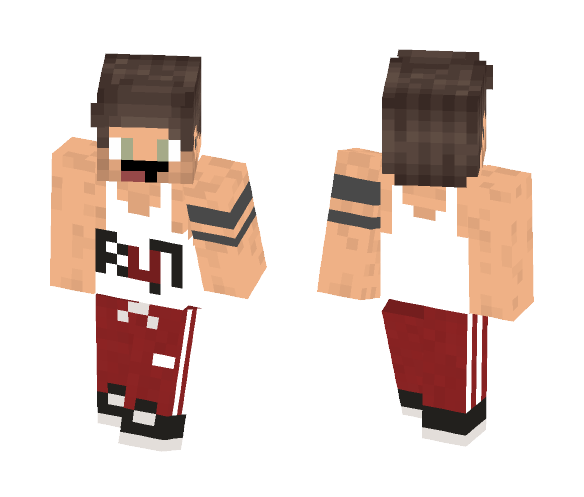 Gym Outfit - Male Minecraft Skins - image 1