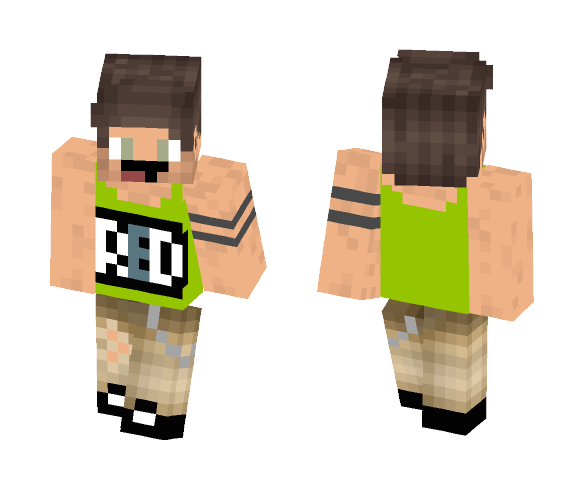 Tank Top +more - Male Minecraft Skins - image 1