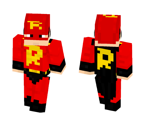 Rizk - Superhero - Male Minecraft Skins - image 1